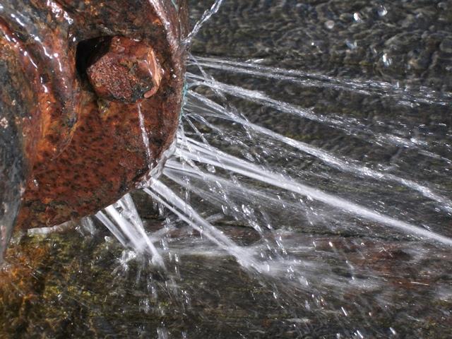 régi vízvezeték